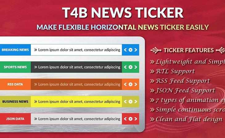 t4b news ticker pro